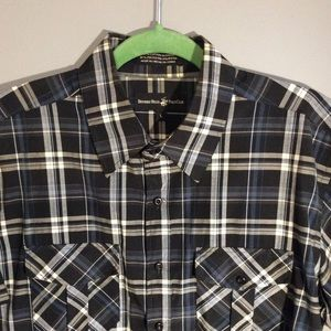 Beverly Hills Polo Club Shirts - Men's Beverly Hills Polo Club Button Down